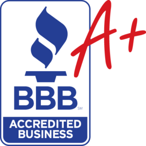 BBB Accredited with A+ rating