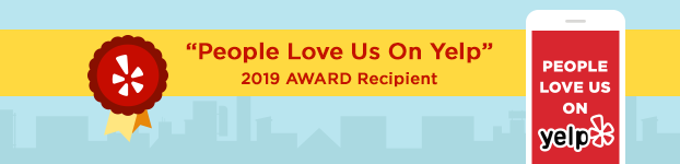 "2019 Award Recipient: ""People Love Us on Yelp"""